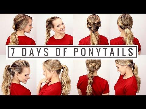 7 frizura të ndryshme për 7 ditë të javës (Video)