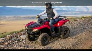 8. 2018 Honda FourTrax Rancher 4x4 DCT IRS ATV Rec/Utility R...