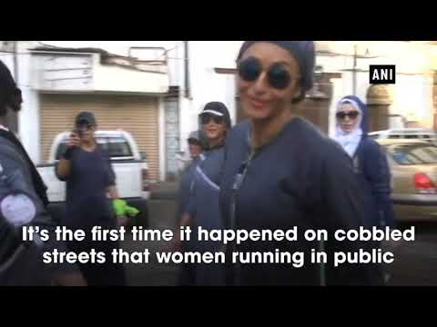 Video Watch: Saudi women exercise their new right to jog download in MP3, 3GP, MP4, WEBM, AVI, FLV January 2017