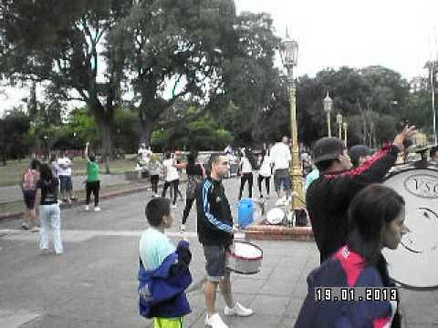 ENSAYO CHIFLADOS DE BOEDO 19/01/2013 MURGUEROS BAILE Y BOMBA
