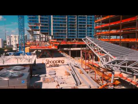 Beautiful HD Video – All Statistics & Construction Update: Brickell City Centre