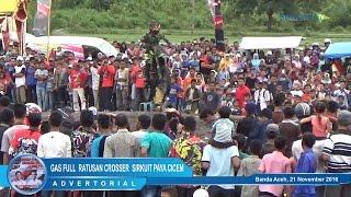 Gas Full Ratusan Crosser Pukau Ribuan Penonton di Sirkuit Paya Cicem