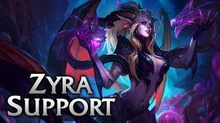 Download Video Dragon Sorceress Zyra Support - League of Legends Commentary MP3 3GP MP4