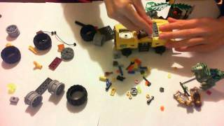 Lego Dino 2012 5884 Raptor Chase Time Lapse Building