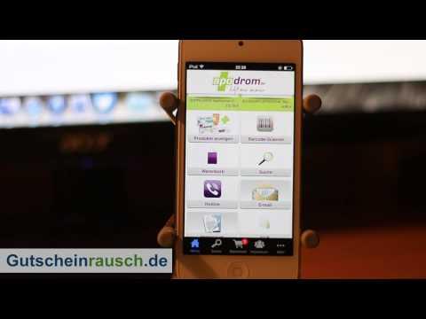 Apodrom im App-Test auf Gutscheinrausch.de