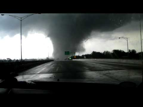 F5 - Nate Hughett and Ryne Chandler chasing the F5 tornado in Tuscaloosa AL. This storm was like nothing else that I have ever seen. We apologize for the language.
