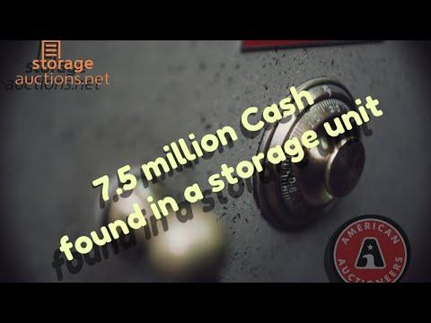 Американец, купивший на аукционе сейф, обнаружил в нём 7.5 млн. долларов