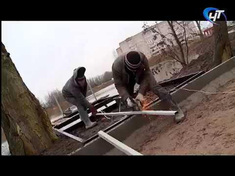 Депутаты городской Думы во главе со спикером проинспектировали ход работ в будущем парке Луговой