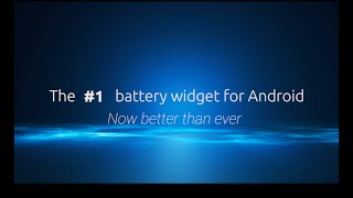 Battery Widget+ (Ad free) YouTube video