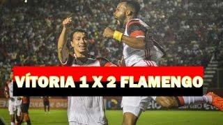 Gabriel e Fernandinho marcam de novo, Fla bate o Vitória e cola no líder Antes contestados, jogadores repetem o que fizeram na...