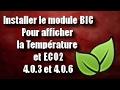 Tuto 03 Installer le module BIC pour afficher la température et ECO2 pour Medianav 4.0.3 / 4.0.6