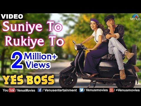 Suniye To Rukiye To Full Video Song | Yes Boss | Shahrukh Khan, Juhi Chawla | Abhijeet