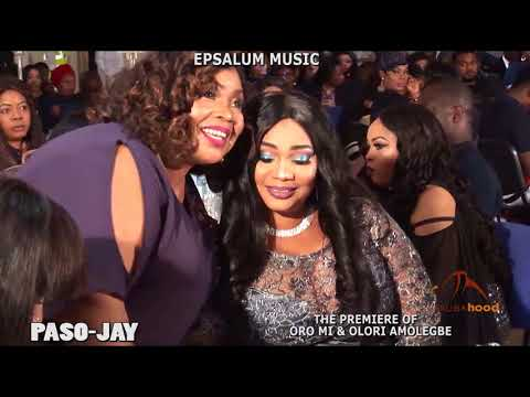 Paso Jay - Jaiye Kuti UK Movie Premier With Wasiu Alabi Pasuma
