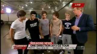 One Direction in Australia (cheeky Live Interview)