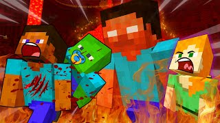 Steve KIDNAPPED Alex ZOMBIE Child - MINECRAFT STEVE AND BABY ZOMBIE [106]