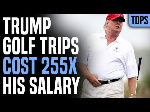 Trump Has Spent Millions Of Tax Dollars On Golf Trips
