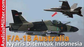 Video Masuk Tanpa Izin, Pesawat Tempur F/A-18 Hornet Australia Nyaris Ditembak Hawk-109/209 TNI AU MP3, 3GP, MP4, WEBM, AVI, FLV September 2018