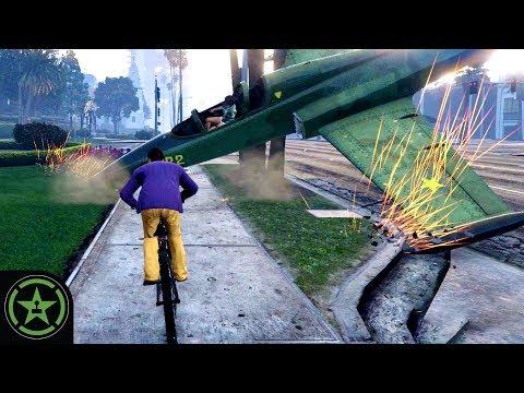 Dropping Hot Death - GTA V | Let's Play