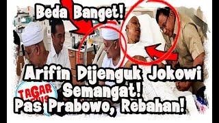 Video Dibesuk Jokowi, Arifin Ilham Semangat, Didatangi Prabowo, Arifin Rebahan MP3, 3GP, MP4, WEBM, AVI, FLV Juni 2019