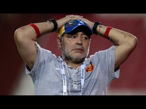 Argentiniens Fußball-Legende Maradona gefeuert