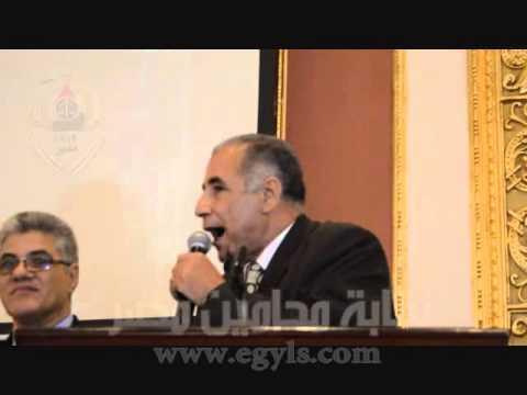 عاشور: قانون الإدارات القانونية سيعرض على رئيس الجمهورية لإقراره