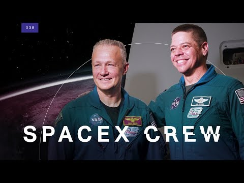 This is SpaceX's very first human crew
