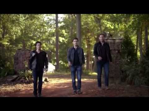 TVD: Damon, Stefan and Alarick talk about Caroline