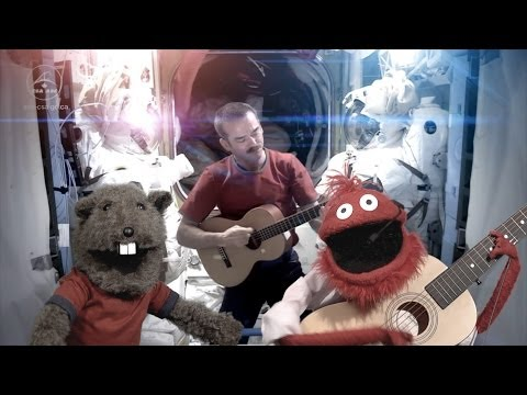 Space Oddity ft Chris Hadfield and Glove and