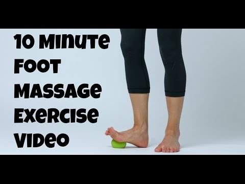 10 Minute Foot Massage Exercise Video for Fast, Effective, Foot Pain Relief.