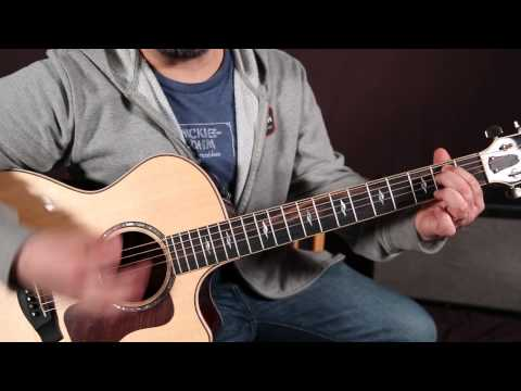 Bob Seger – Turn The Page – Guitar Lesson – How to Play Super Easy Beginner Chords – Acoustic Songs