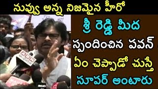 Video Exclusive Video : #Pawankalyan Responds On Sri Reddy Issue For The First Time MP3, 3GP, MP4, WEBM, AVI, FLV Desember 2018
