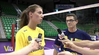Imoco Volley - E' ARRIVATA ROBIN DE KRUIJF