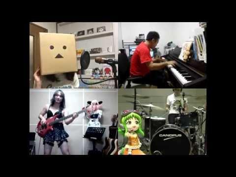 [HD]Owarimonogatari ED [Sayonara no Yukue] Band cover