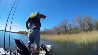TEXAS BASS FISHING NTXKC Lake Fairfield 2017 Practice
