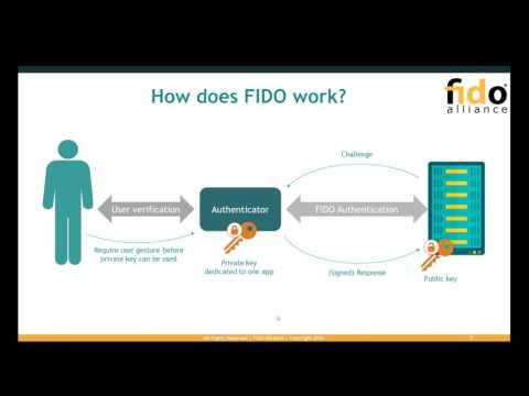 Technical Webinar: Getting to Know the FIDO Specifications