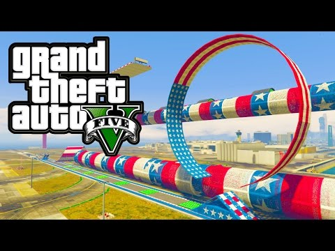 GTA 5 – CREATING INSANE STUNT RACES! (GTA 5 STUNT RACE CREATOR GAMEPLAY WITH MODS)