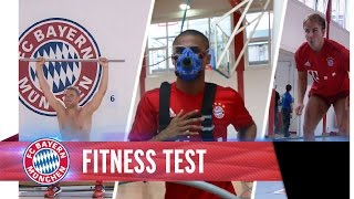 Video Fitness tests with Mario Götze, Manuel Neuer and Douglas Costa MP3, 3GP, MP4, WEBM, AVI, FLV Mei 2018
