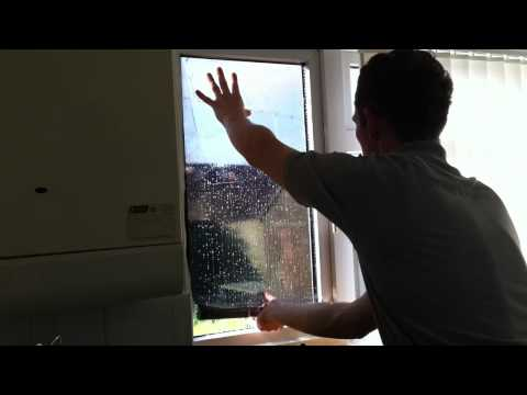 How to Install / Fit DIY Solar Window Film Tinting to Glass Windows.
