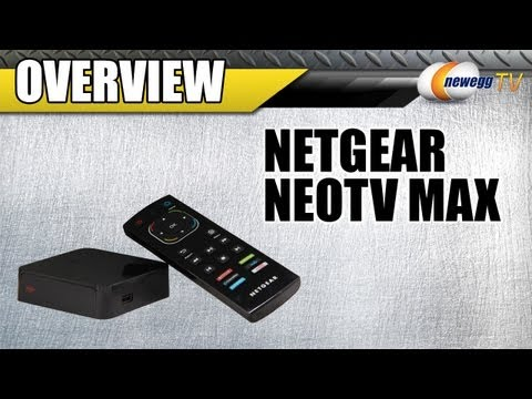 netgear - http://www.newegg.com | Networking: http://bit.ly/Wh7SZd 33-122-486 Here's an NeoTV Max Streaming Player, made by NETGEAR, Model: NTV300SL-100NAS. Check out ...