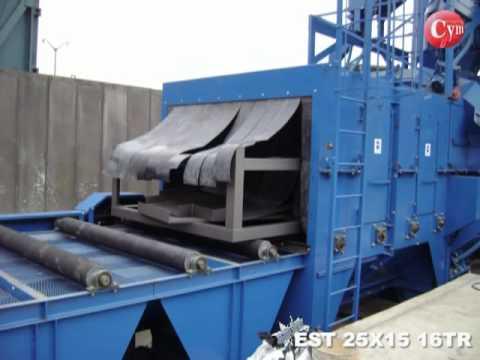 Maquinas Granalladoras de Tubos, Spools y Torres Eólicas