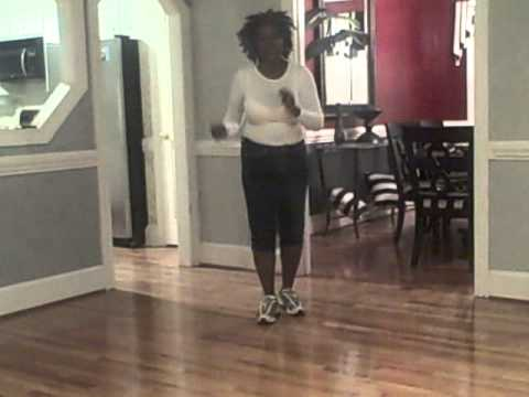 Wobble Line Dance Step by Step Video