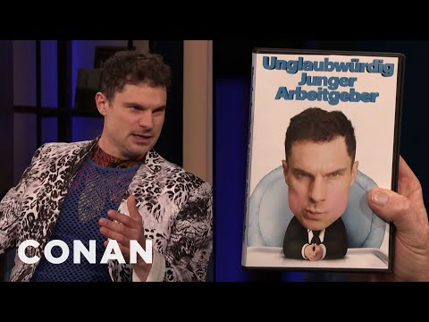 Flula Borg Is Alec Baldwin's German Brother - CONAN on TBS