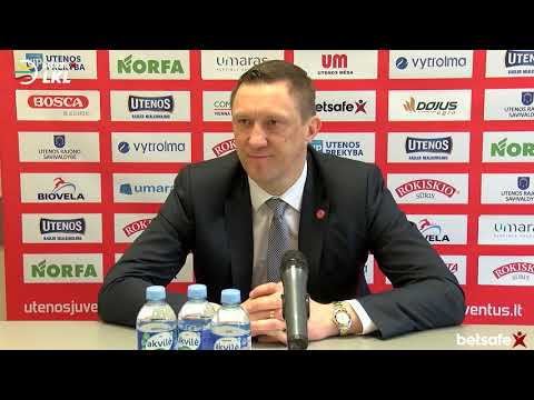 """Betsafe–LKL"" rungtynių komentarai: ""Juventus"" - ""Lietkabelis"" [2019-04-06]"