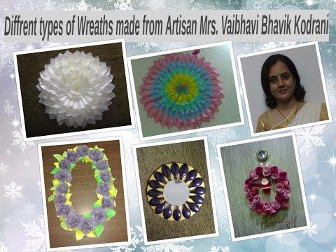 Demonstration workshop on wreath making