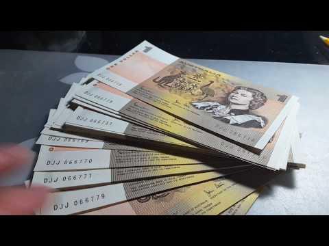 Australia $1 banknote bundle