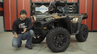 8. Polaris Sportsman Winterized