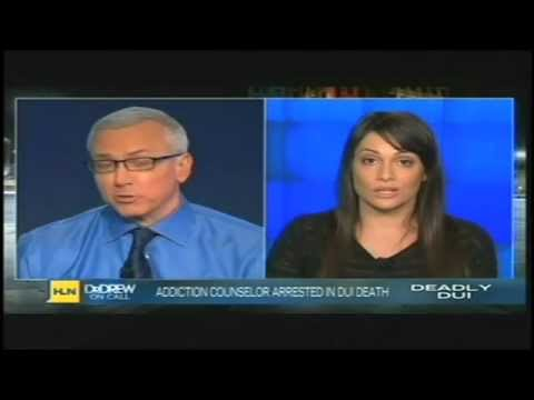 """Author Anna David from """"The Fix"""" interviewed on Dr. Drew Pinsky regarding alcoholism and relapse."""