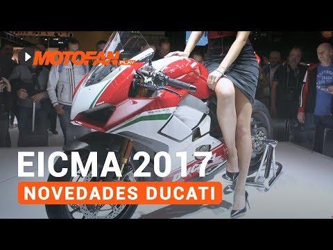 Vídeos de '(VIDEO) Las novedades de Ducati en el salón EICMA de Milán 2017'