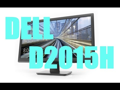 Dell D2015H 20 Inch Full HD LED Monitor | Review & Hands On