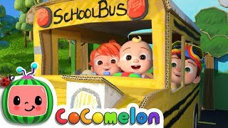 Video Wheels on the Bus 2 | CoCoMelon Nursery Rhymes & Kids Songs MP3, 3GP, MP4, WEBM, AVI, FLV Februari 2019